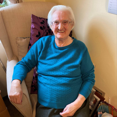 Social Care PR photography, Katherine Flavel at Mansfield Care.