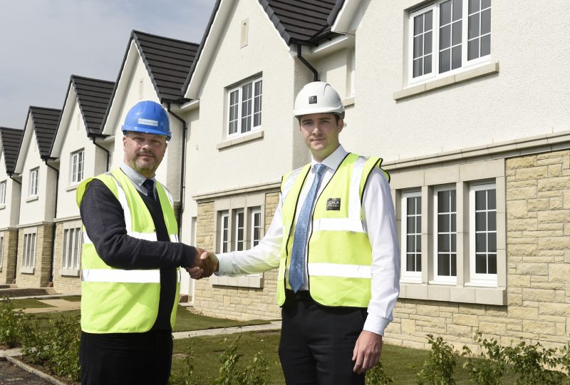 CALA hands over affordable homes to Midlothian Housing Association
