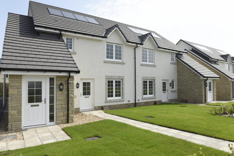 Affordable homes by CALA at Eagle's Green in Midlothian