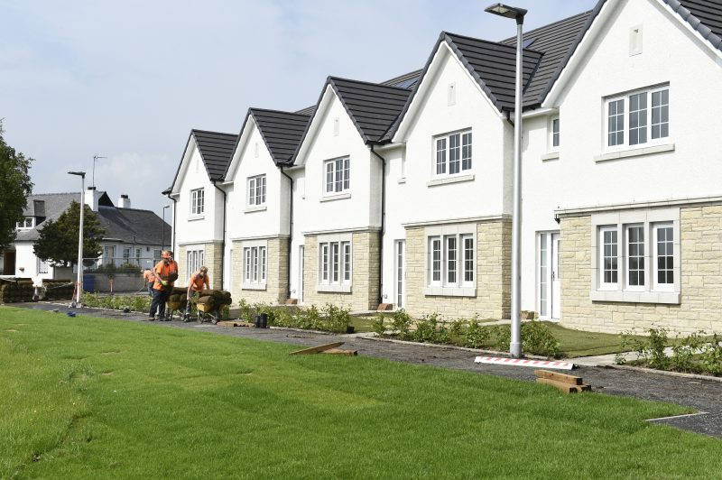 Affordable homes by CALA at Eagle's Green, Midlothian