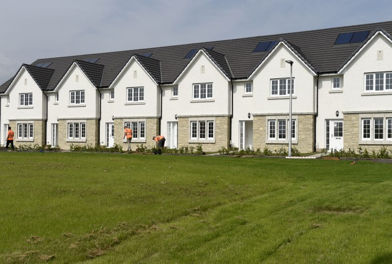 CALA hands over affordable homes in Midlothinan