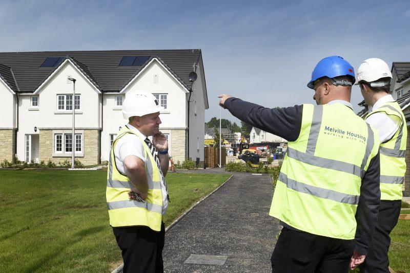 CALA Homes affordable handover at Eagle's Green