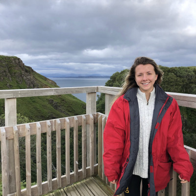 Graduate Lucy Donaldson's four week placement learning PR in Edinburgh