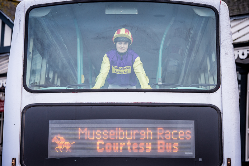 Hospitality PR photography for Musselburgh Racecourse