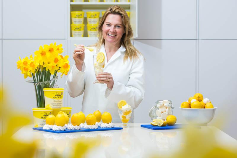 Mackie's of Scotland launch Sicilian Lemon Flavour2