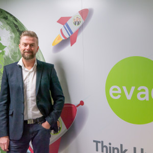 PR Photograph of Mark Hill, Chief Executive at EVAD