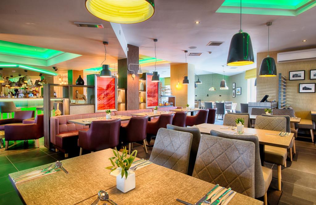 Restaurant at Leonardo Hotel in Edinburgh