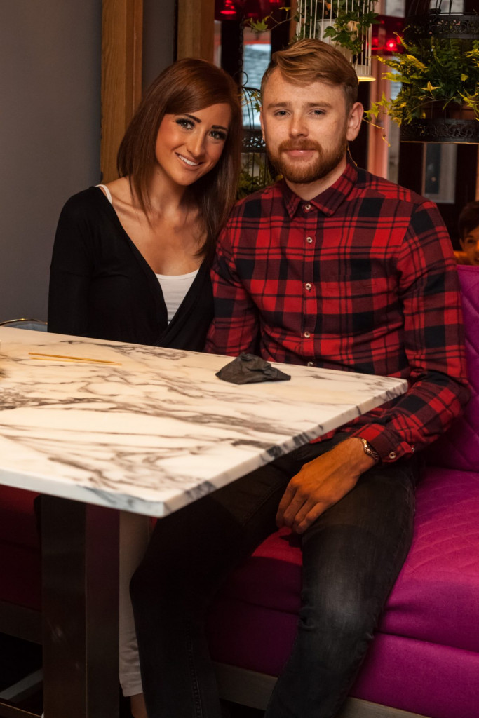 Hotel PR photograph of Refurbishment Launch at Tigerlily Edinburgh