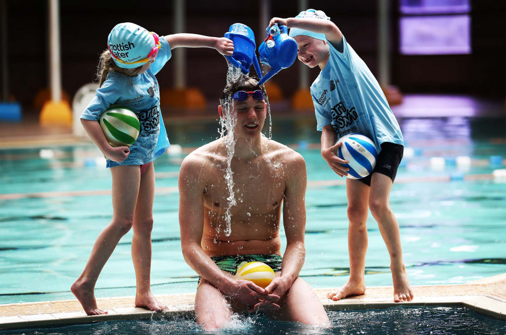 Scottish Water and Scottish SwimmingLearn to Swim launch - Borders
