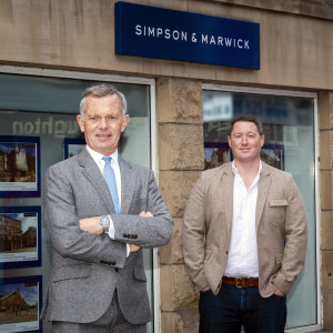 Legal PR photography of Simpson & Marwick leadership team