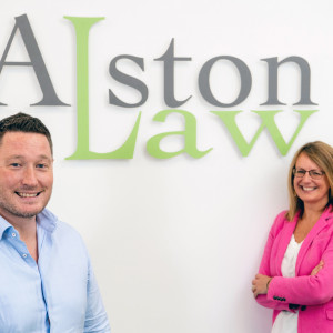 Legal PR photography Rob and Denise, Simpson & Marwick.