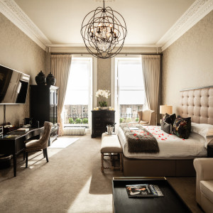 Luxury City hotel named as Edinburgh's most romantic hotel