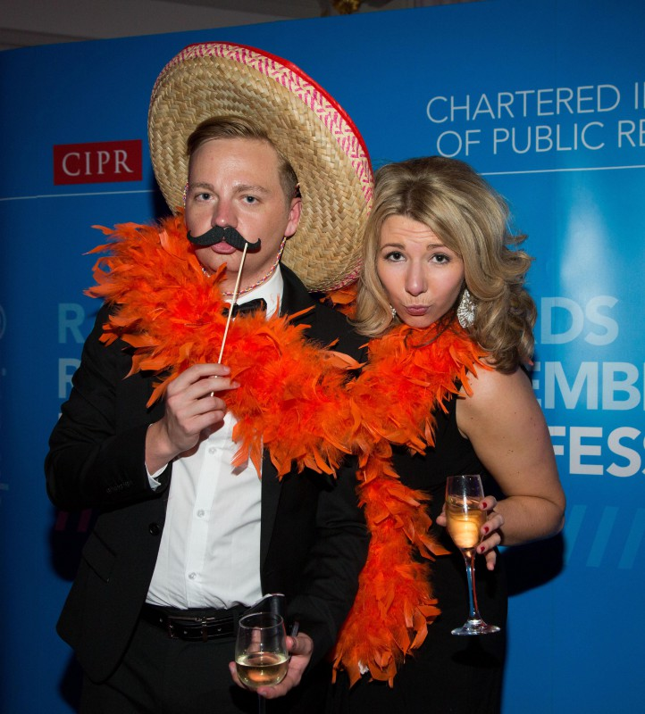 Staff at award winning PR agency celebrate success at 2014 CIPR Scotland PR awards