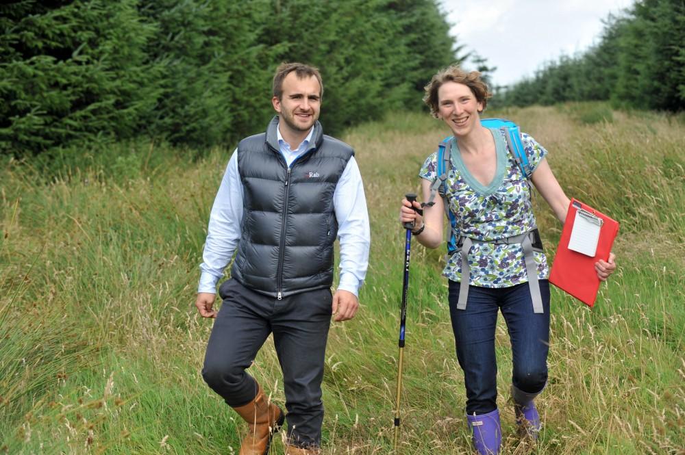 PR photos of peat bog for Banks Renewables