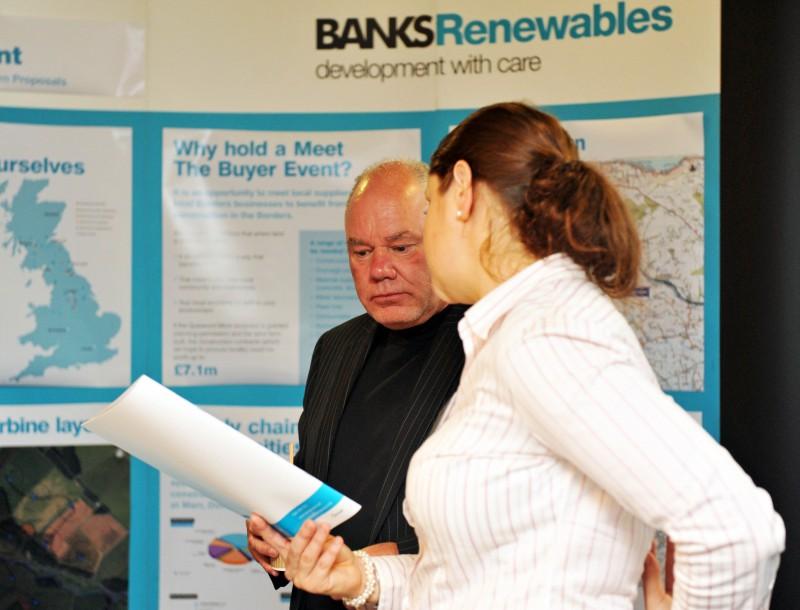 Quixwood Moor wind farm public exhibition