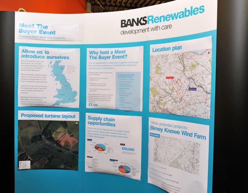 Public exhbition for Quixwood Moor wind farm