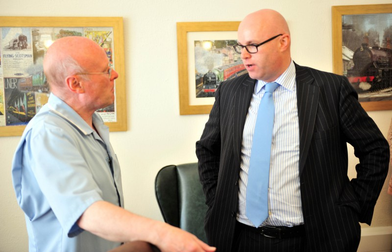 Care Inspectorate visit locals on National Care Home Open Day