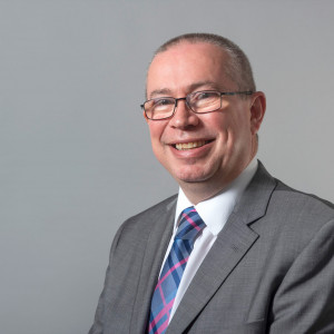 Charity PR photography headshot of Scott Mitchell managing director of Surgeons Quarter