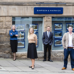 Simpson & Marwick Team - legal PR photography