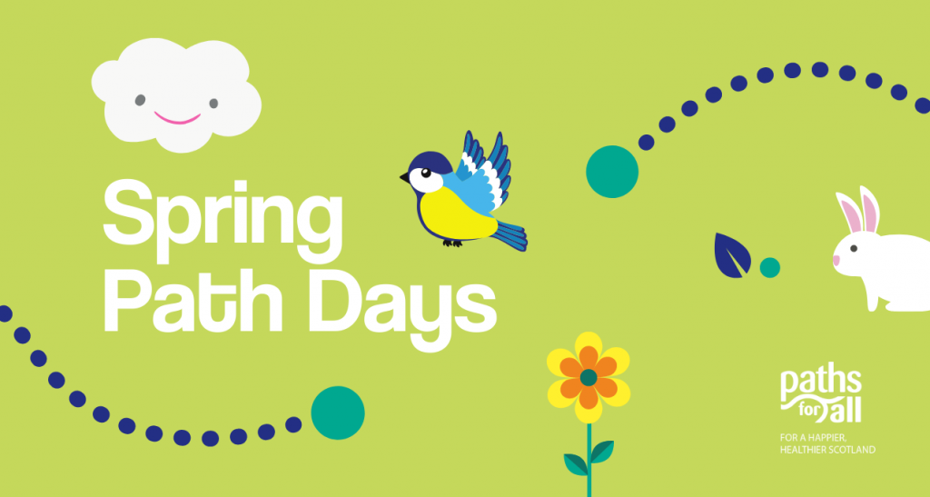 Charity PR photography, Spring Path Days, Paths For All.