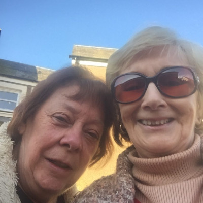 social care PR photography Stella and Anne, Bield Housing and Care
