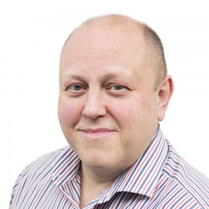 Social Care PR photography headshot of Stephen Wilson, CEO and Co-Founder of Netli.
