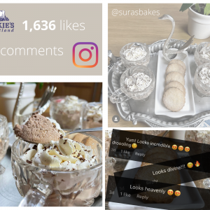 Digital PR photography, Sura GBBO and Mackie's of Scotland Instagram collab.