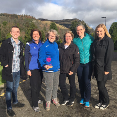 Charity PR photography, Team Scotland Walk at Work Award, Paths For All.