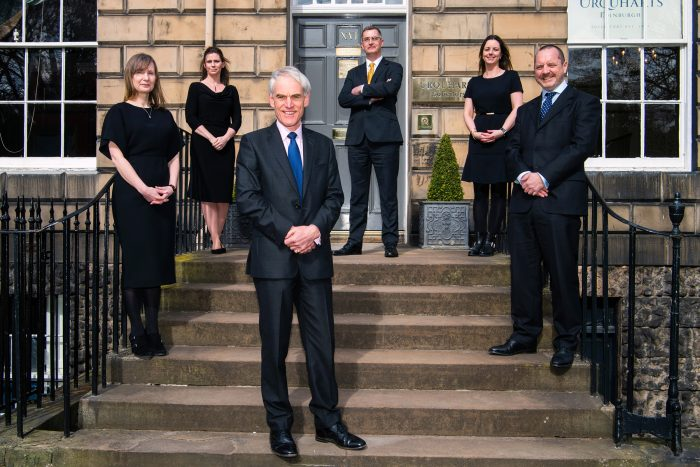 Legal PR photography, Team with Roderick, Urquharts.