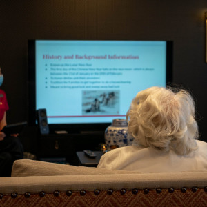 Tech helps a modern care home connect while residents isolate