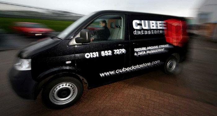 Cube Datastore used PR photography by Holyrood PR in Edinburgh