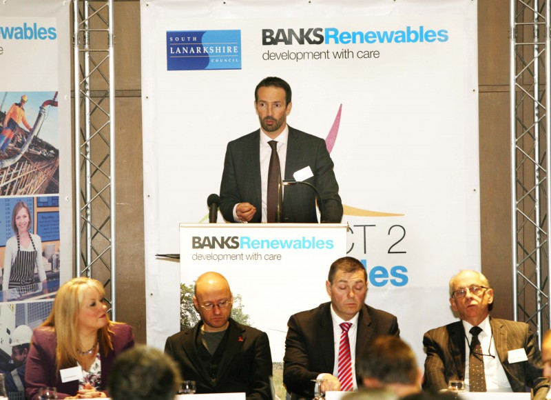 PR services for Banks Renewables from Holyrood PR in Edinburgh