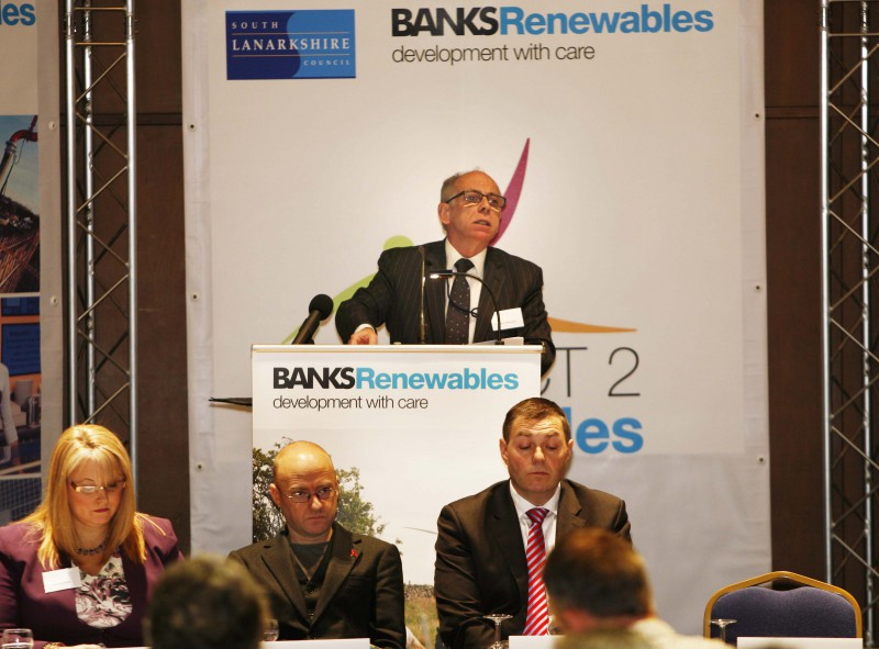 Banks Renewables use PR photography from Holyrood PR in Edinburgh