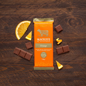 Food and Drink PR photography Mackie's of Scotland new flavour bar on its own.