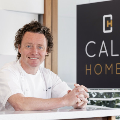 Property PR photography, Tom Kitchin cookalong with CALA Homes (East).