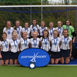 Property PR photography, U18s Scottish Cup Winners Edinburgh Hockey Club, CALA Homes (East).